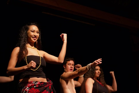 This was my first time dancing a Rapa Nui dance, talking about the people of Rapa Nui.