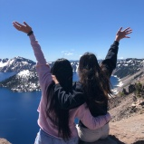 Ua and I at Crater Lake!